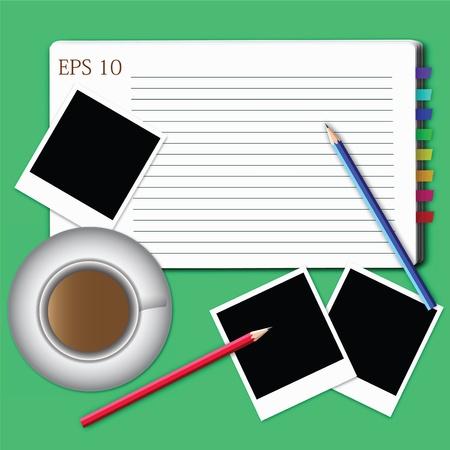 vector of blank paper. Stock Vector - 11413462