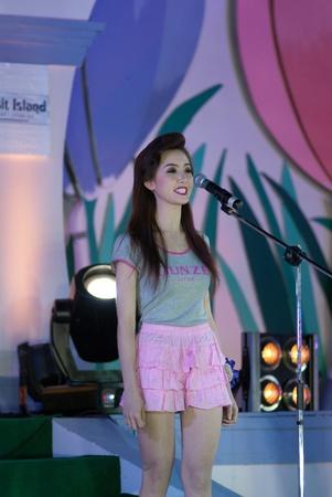 CHIANGRAI, THAILAND - DECEMBER 25: Sunisa Kancome during the