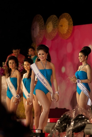 CHIANGMAI, THAILAND - JANUARY 3: Competitors during the