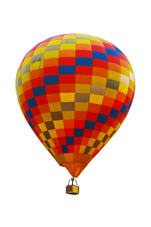 Hot air balloon on white background. Stock Photo - 12509422