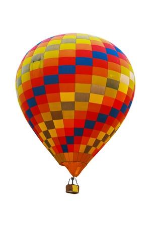 Hot air balloon on white background. Stock Photo - 12509422