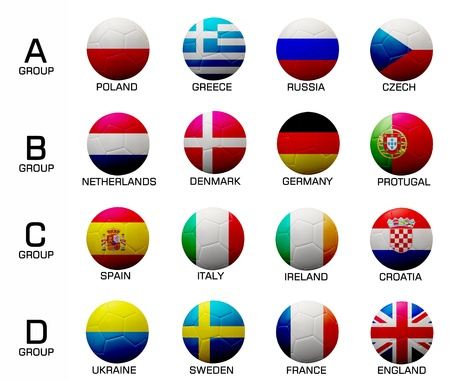 The euro 2012 football  competition.