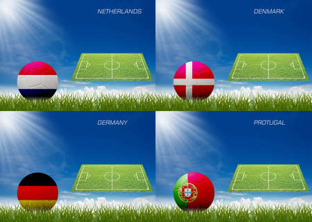 The euro 2012 football  competition. photo