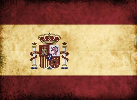 drapeau portugal: Grunge drapeau europ�en � partir de vieux papier de fond sale.