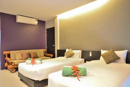 Luxury bedroom interior design for modern life style. Stock Photo - 12819222