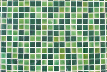 Abstract green tile close up view. Stock Photo - 13054964