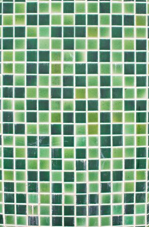 Abstract green tile close up view. photo