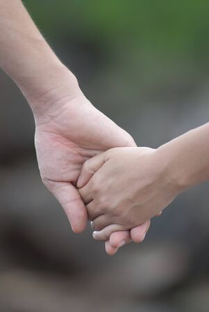 hands with love sign pre wedding sceen out door bckground. Stock Photo - 13371141