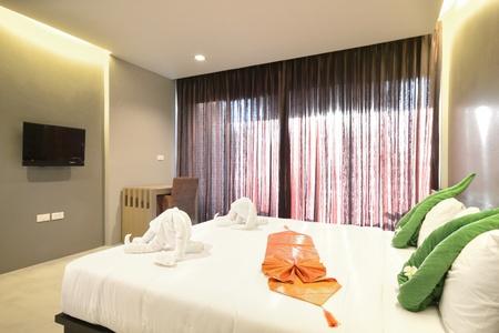 Luxury bedroom interiors design for modern life style.