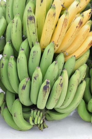 Nice form of fresh banana. photo