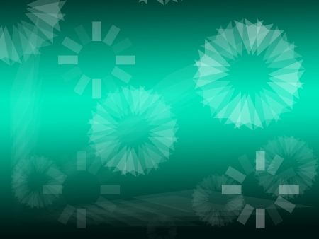 Shape abstract modern style background. photo