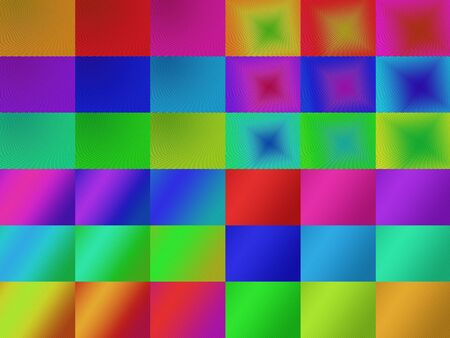 Set of attractive curve line colorful abstract backgroud. photo
