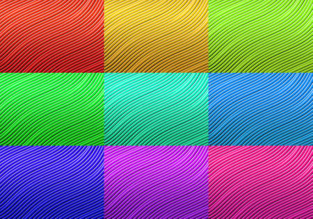 Wave line gradient light abstract background. photo