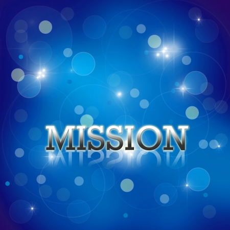 business wording on blue abstract background. Stock Photo