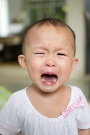 close up face of crying girl. Stock Photo - 15612995