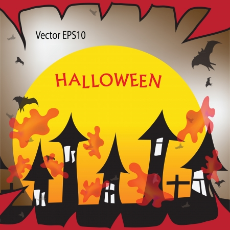 Halloween festival ideas. Vector