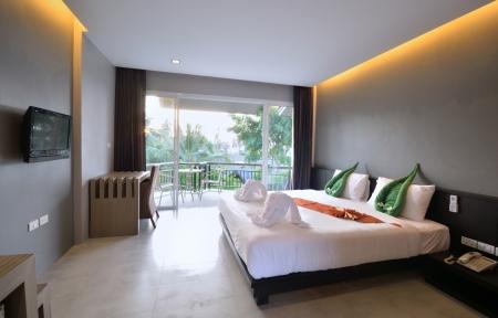 Luxury bedroom inter design for modern life style. Stock Photo - 15719720