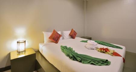 Luxury bedroom interior design for modern life style. photo