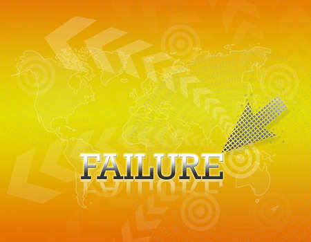 Attractive artwork of business wording on golden gradient background. Stock Photo - 16289325