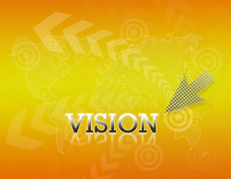 Attractive artwork of business wording on golden gradient background. Stock Photo - 16289326