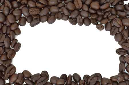 Close up of coffee bean pattern  photo
