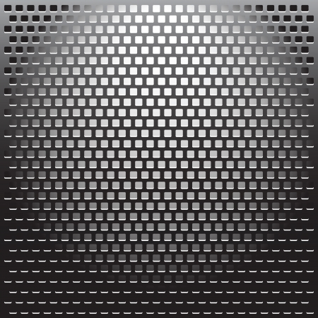 Illustration Metal Grille background. illustration