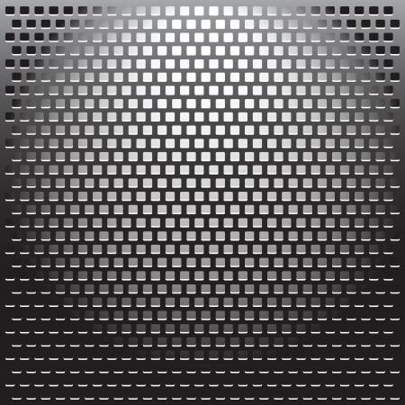 Illustration Metal Grille background. Stock Illustration - 16988293