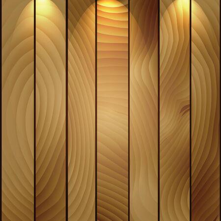 Illustration of wood background. Stock Illustration - 16988279