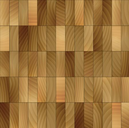 Illustration of wood tiles background. illustration