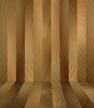Illustration of wood wall abstract background. illustration