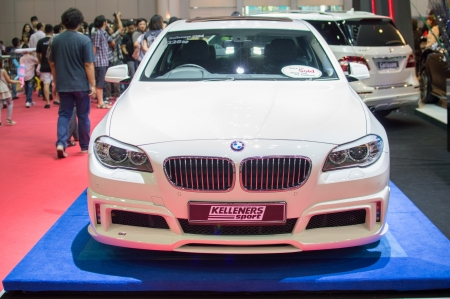 motorshow: BANGKOK, THAILAND- MARCH 31: A bmw 2013 on display at The 34th Bangkok International Motorshow 2013 at Impact on March 31, 2013 in Bangkok,Thailand