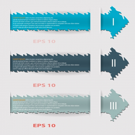 Info graphic tags. Stock Vector - 19037122
