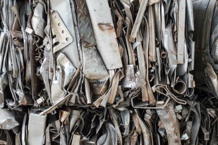 alluminum: recycles industrial; alluminum can, box.