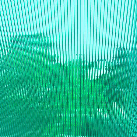 Green abstract background of building roof. photo