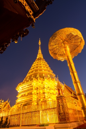 Doi Suthep temple Chiang Mai, Thailand Stock Photo - 25169034