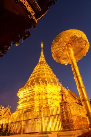 Doi Suthep temple Chiang Mai, Thailand Stock Photo - 25169034