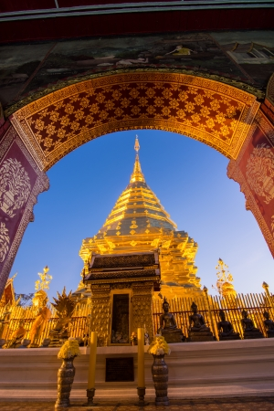 Doi Suthep temple Chiang Mai, Thailand Stock Photo - 25169037