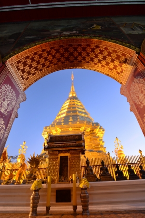 Doi Suthep temple Chiang Mai, Thailand Stock Photo - 25168814