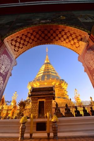 Doi Suthep temple Chiang Mai, Thailand Stock Photo - 25168814