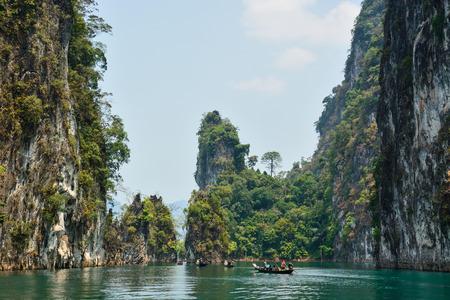Ratchaprapha Dam, Khao Sok National Park, Surat Thani Province, Thailand ( Guilin of Thailand )