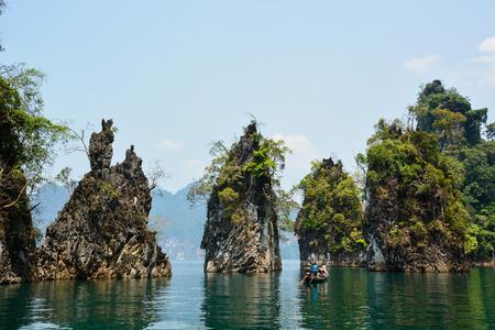 thani: Ratchaprapha Dam, Khao Sok National Park, Surat Thani Province, Thailand ( Guilin of Thailand )