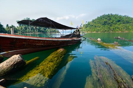 Ratchaprapha Dam, Khao Sok National Park, Surat Thani Province, Thailand ( Guilin of Thailand ) photo