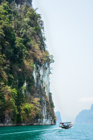 Ratchaprapha Dam, Khao Sok National Park, Surat Thani Province, Thailand ( Guilin of Thailand ) photo