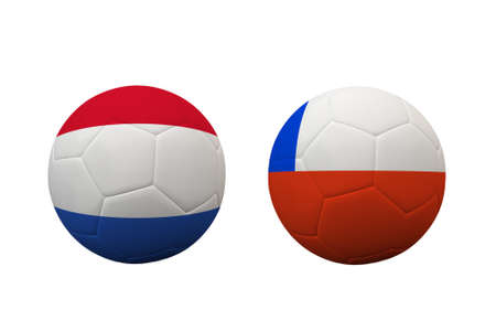 b ball: Soccer Championship 2014. group B. First round. Stock Photo