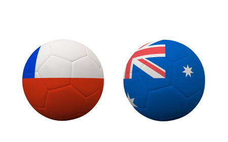 group b: Soccer Championship 2014. group B. First round. Stock Photo