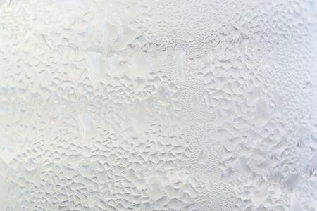 distilled water: Textura de una Copa de fr�o condensaci�n de agua destilada.