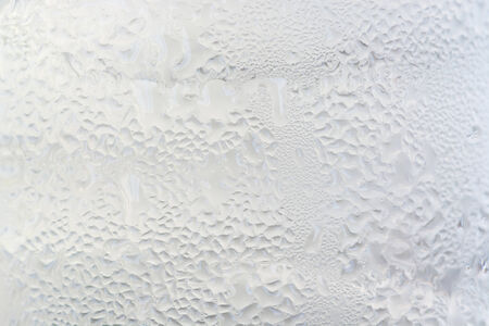 distilled water: Texture of A glass of cold distilled water condensation.