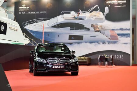 showed: Nonthaburi,Thailand - March 24th, 2015: Brubus auto ,showed in Thailand the 36th Bangkok International Motor Show on 24 March 2015