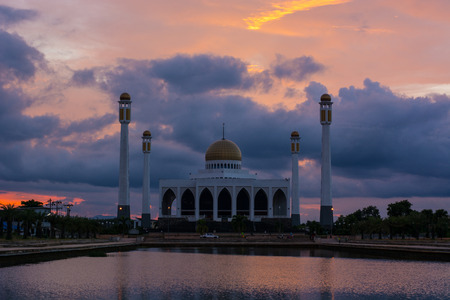 The Central Mosque of Songkhla (Central Masjid of Songkhla)