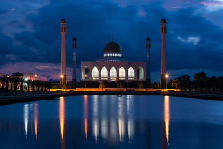 pattani thailand: The Central Mosque of Songkhla (Central Masjid of Songkhla)